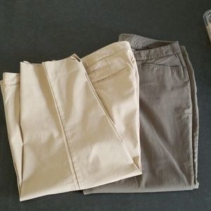 2 PairsLane Bryant. Capris  Pants Size 20